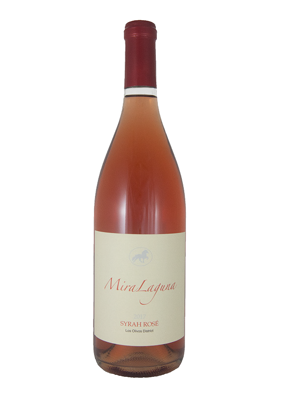 2017 Syrah Rosé wine